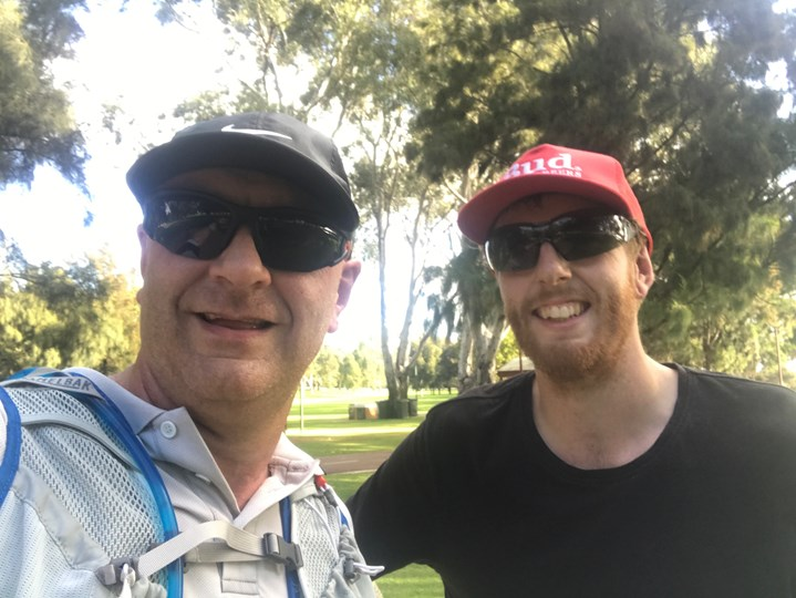 Guy & Mikes Perth Half Marathon for Cancer research
