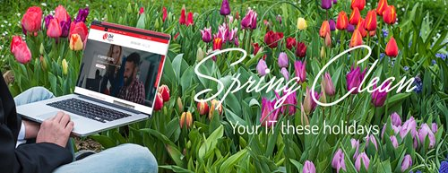 Spring clean your IT these holidays Teaser